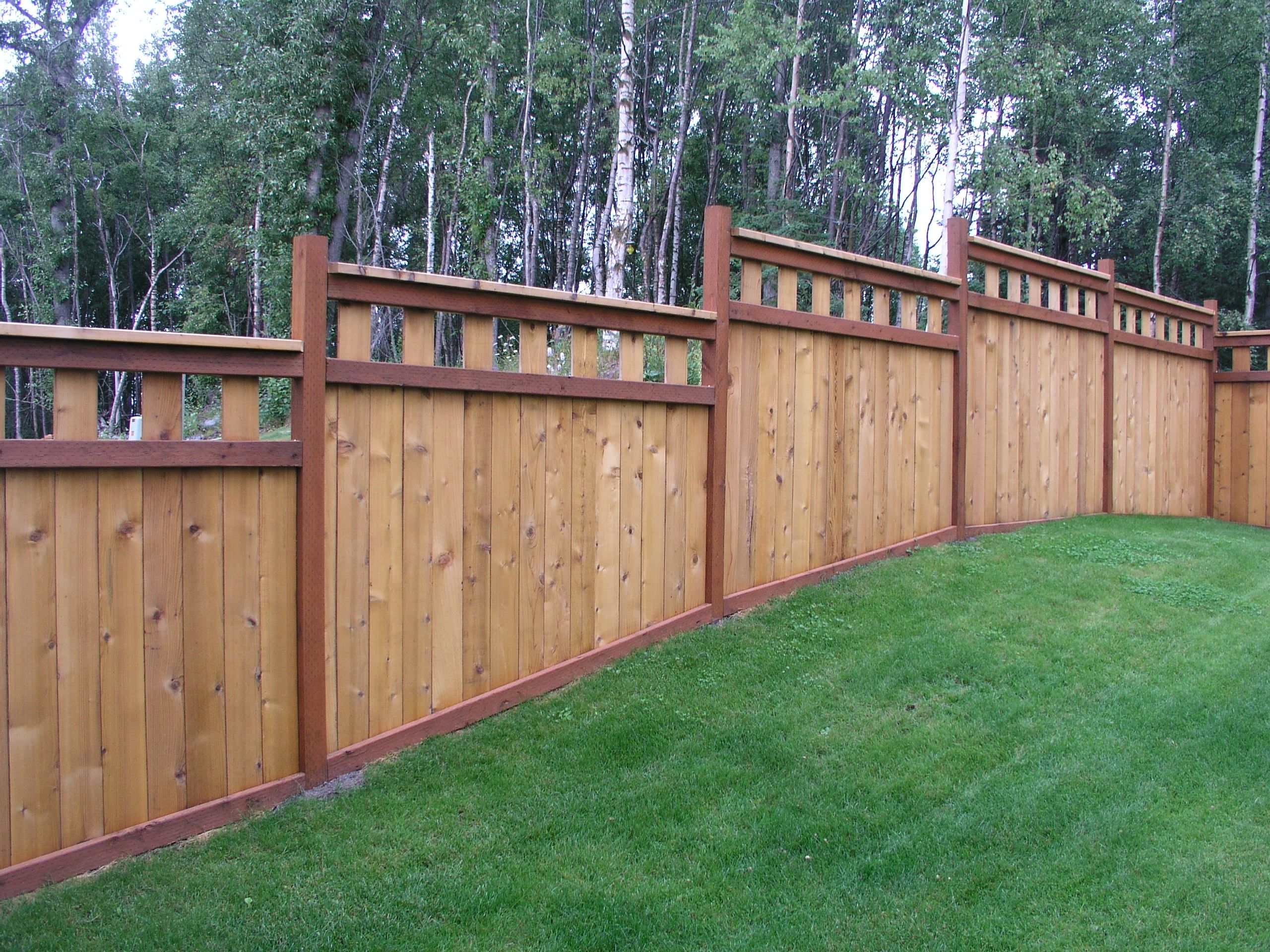 Aaa Fence Inc Privacy Fence Landscaping Privacy Fence Designs