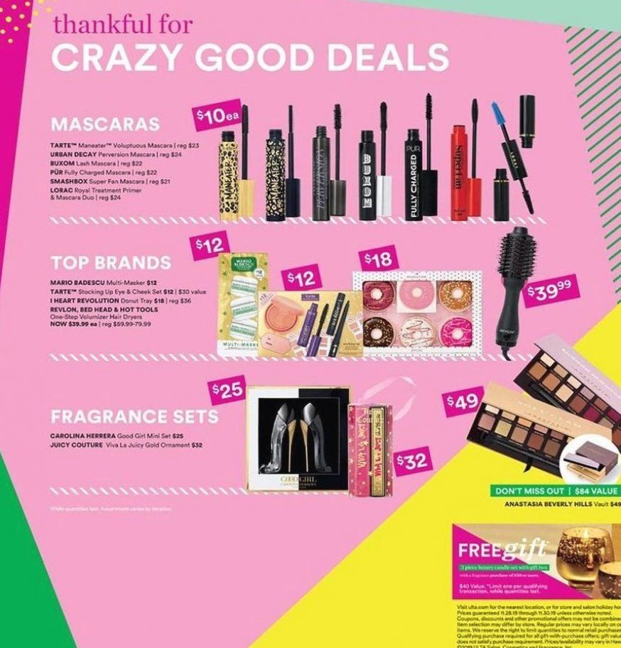 Ulta Beauty Black Friday Ad Scan Deals And Sales 2019 The Ulta Beauty 2019 Black Friday Ad Is Here Be Sure To Subscribe To Our Newsle In 2020 Ulta Beauty Beauty Ulta