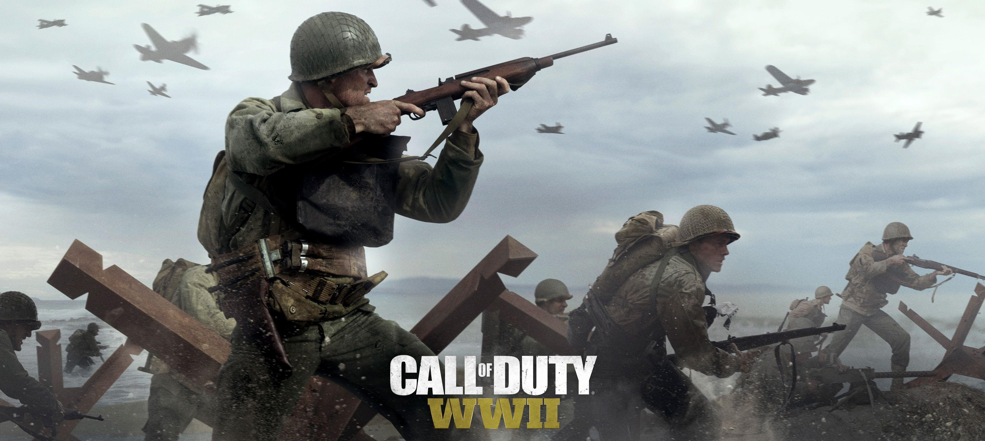 3840x1720 Call Of Duty Wwii 4k Download Wallpaper For Pc