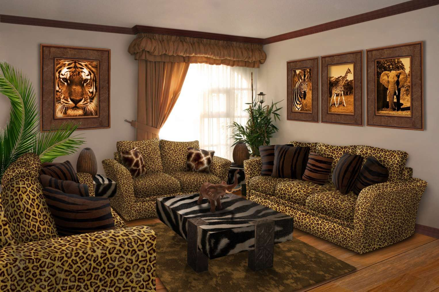 15 Excellent Animal Print Living Room Set Collection Check More At Https Alexstewartperu Com 15 Safari Living Rooms African Living Rooms Living Room Themes