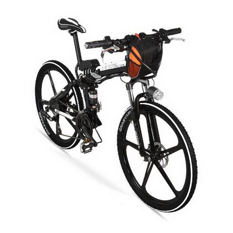 Tb310902 1 Folding Lithium Bike 26 Inch 27 Speed Aluminum Alloy