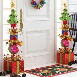 christmas inside the front door