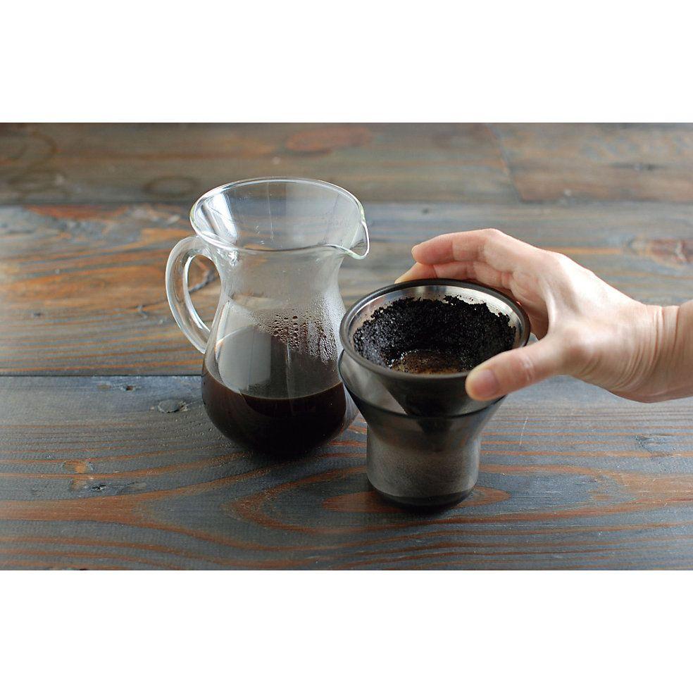 Kaffeefilter Edelstahl glaskanne mit integriertem kaffeefilter dieser spezielle filter aus