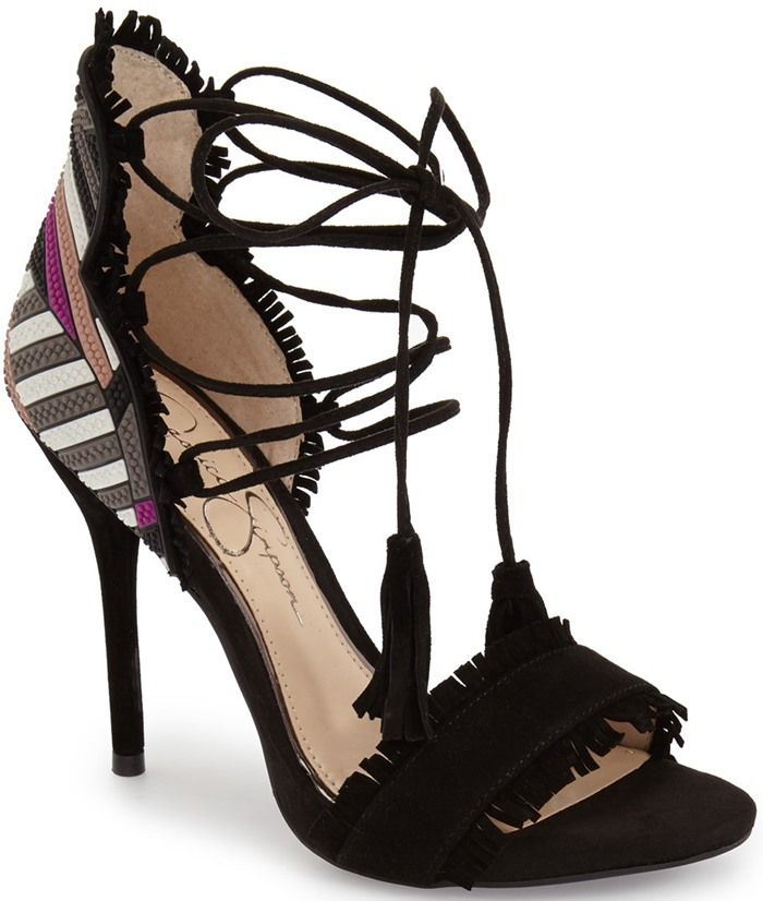 20 Fringe Sandals and Shoes That You Will Love | Jessica simpsons