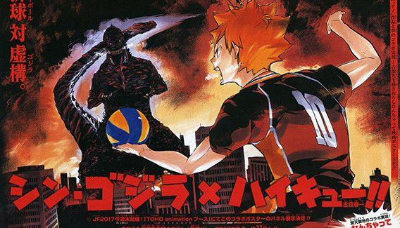 [Japonadas] Mira este bonito dibujo oficial de Godzilla vs Hinata.