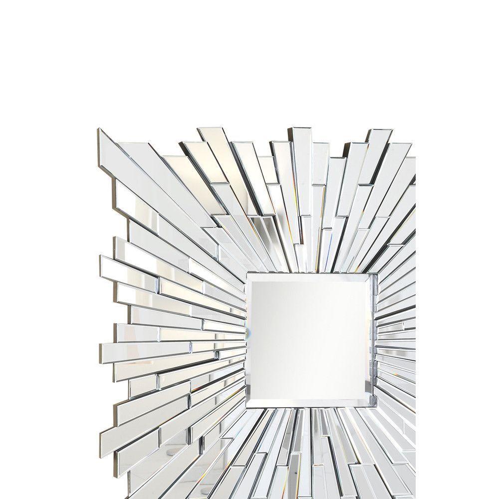 Elegant Lighting Mr 3006c Mirror 47 X 2 X 47 H Clear Modern