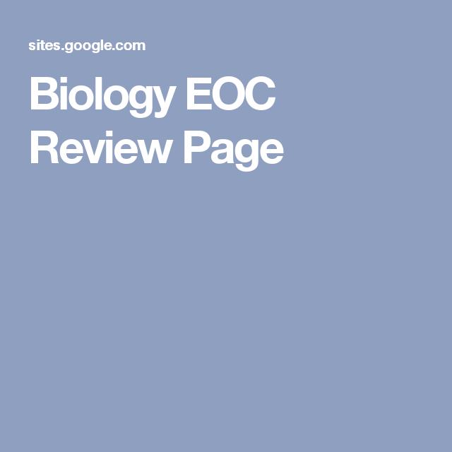 Biology Eoc Review Page School Pinterest Google Sites Teacher