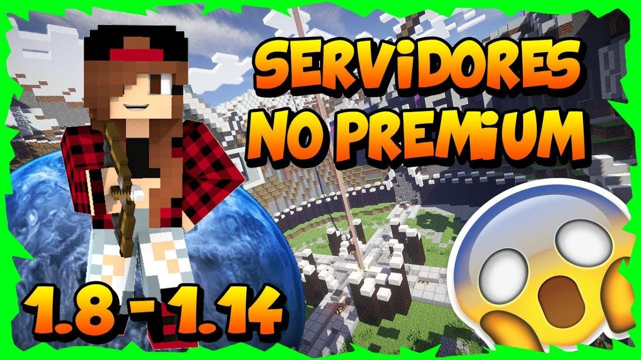 Todos Los Servidores Para Minecraft 1 8 1 14 No Premium Sin Lag Con Minecraft Cubecraft Thing 1