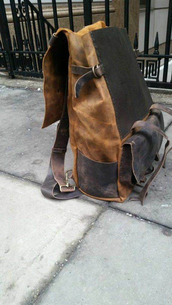 Weekend Holdall Leather