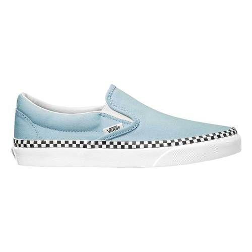 Check Foxing Slip On Schoenen | Blauw | Vans | Schoenen