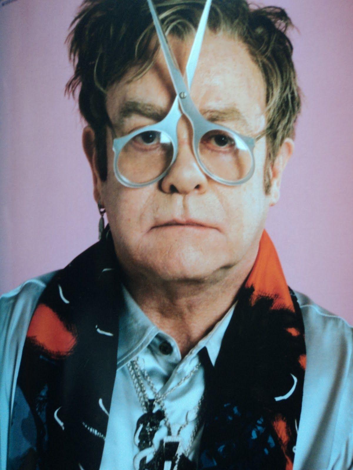 Elton John Weird Glasses 4