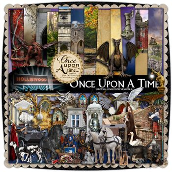 Once Upon A Time....a digital kit from Holliewood Studios