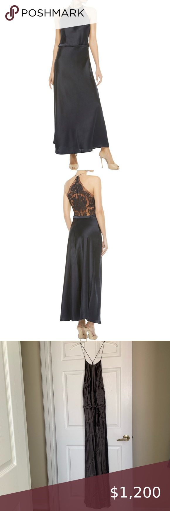Size S La Perla Nightgown with Pants Size 2
