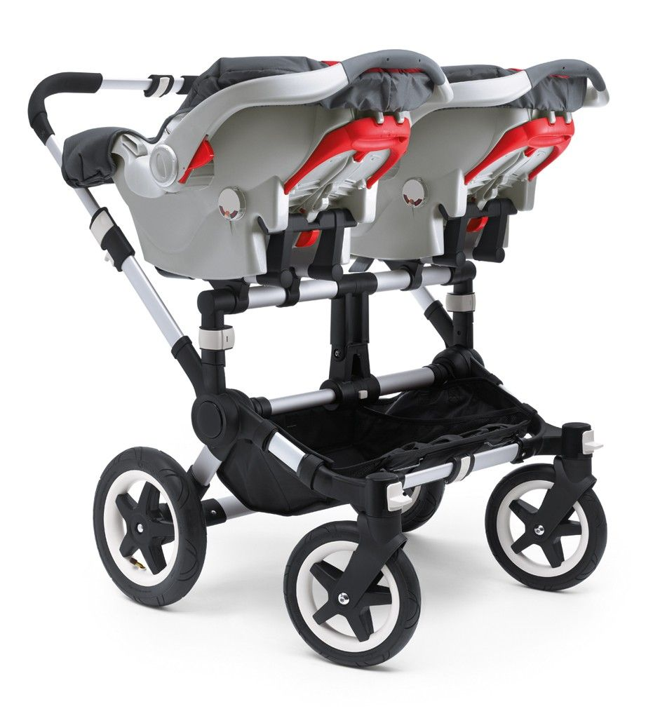 Twin Strollers With Car Seats Bugaboo Donkey Twin Graco