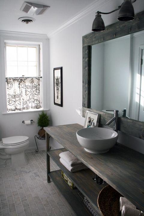 25 idées déco pour une jolie salle de bain [suite] | Wooden tables ...