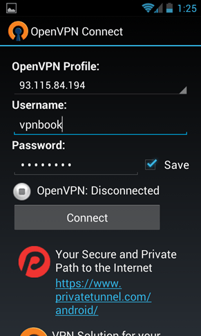 How To Set Up Openvpn On Android Android Setup Howto