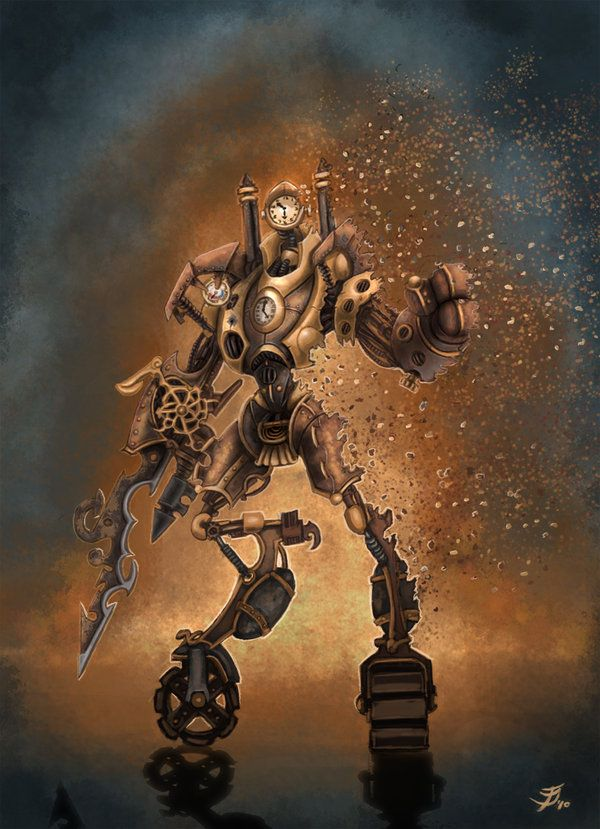 Clockwork Man (5e Race) - D&D Wiki