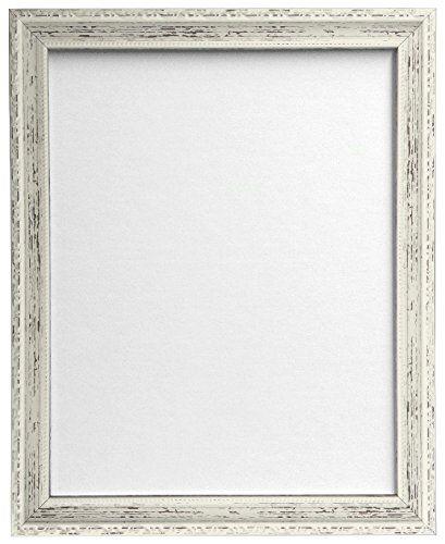 AP-3025 Distressed White Picture Photo Frame 40 x 50 cm (Plastic ...