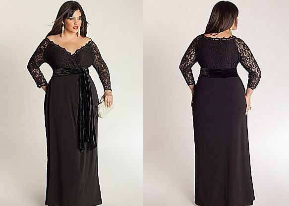 Plus Size Special Occasion Dresses Black Onyx Plus Size Special