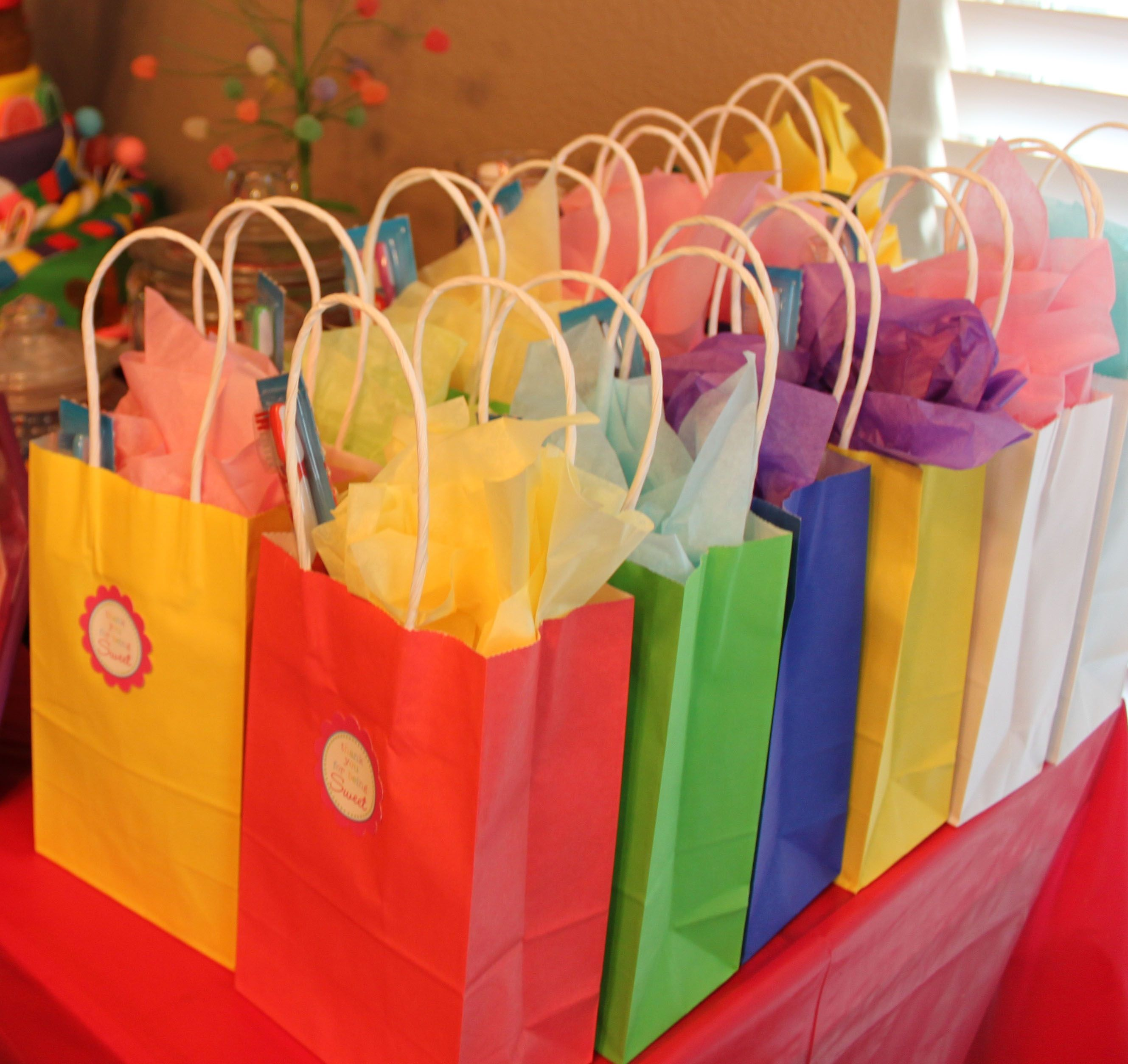 15 Fun Goodie Bag Ideas Without Candy | Candyland, Birthdays and ...