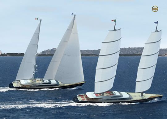 15989d1189526072 Maltese Falcon Hit Miss Two Masted Dynarig Jpg 540 386 Pixels Yacht Sailing Yacht Boat