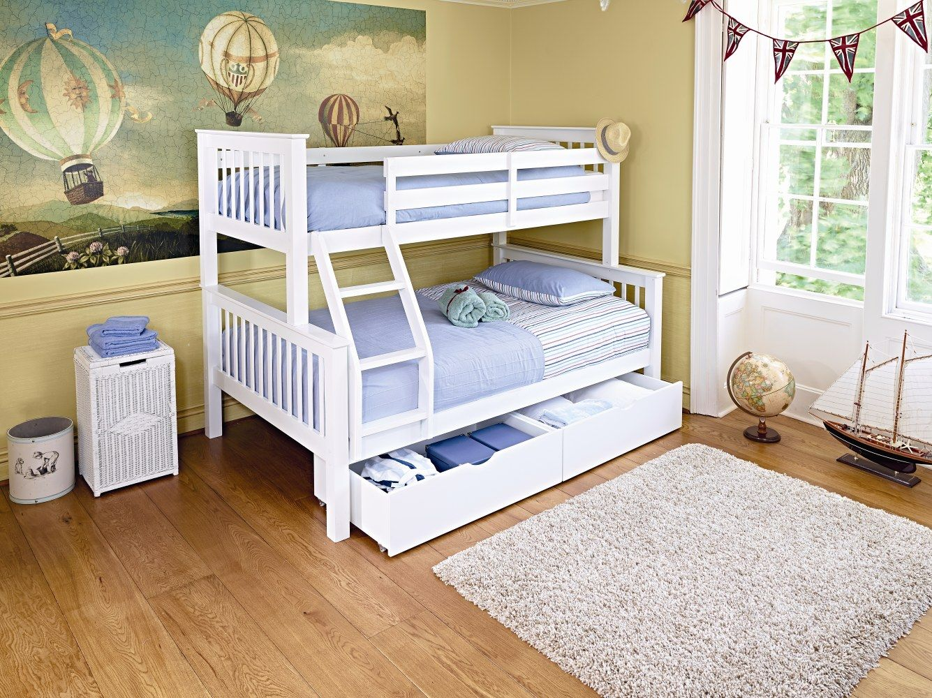 Best A Great Shared Bedroom Idea A Bunk Bed That Had A Double 400 x 300