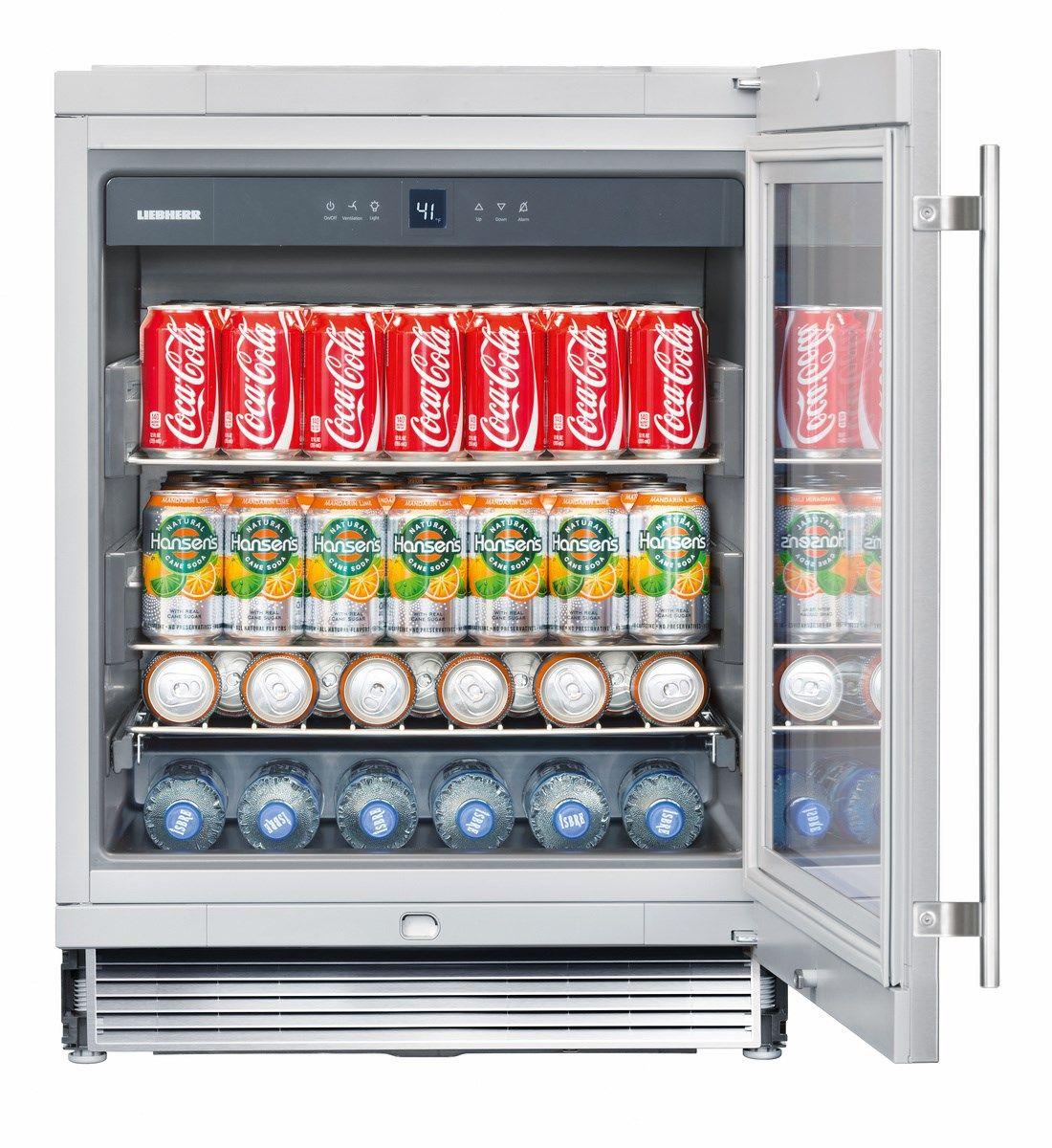 RU 510 Built in beverage cooler, Best sliding glass