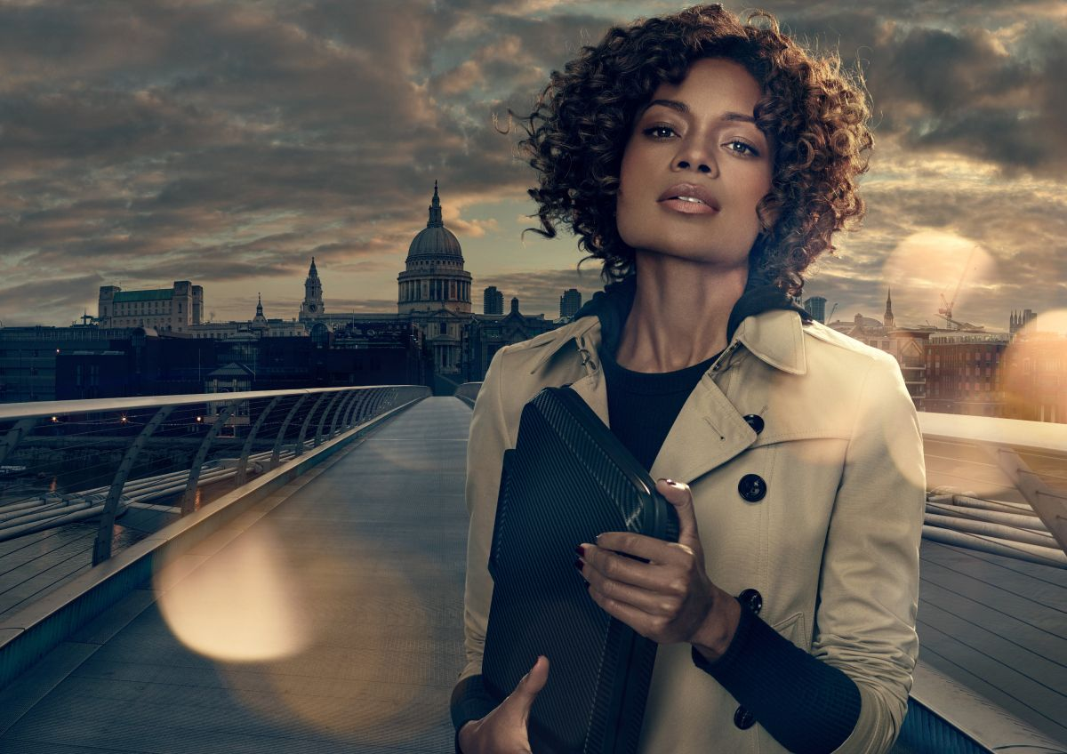 JAMES BOND'S MISS MONEYPENNY STARS IN SONY CAMPAIGN