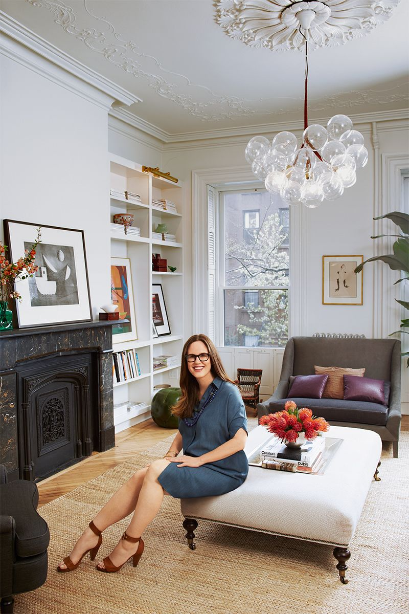 Elle Decor Small Bathrooms: How A One Kings Lane VP Decorates Her Home