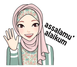 Make Your Chats More Fun With Hijab Gaul Stickers D Stiker