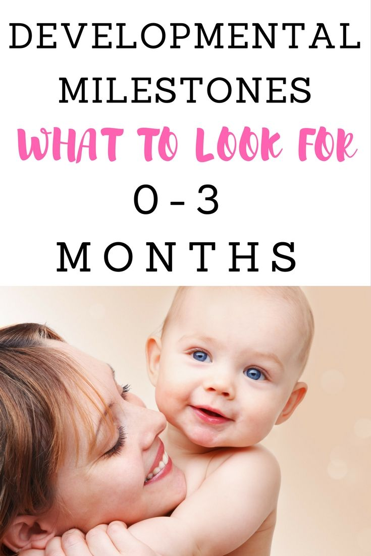 Image result for baby milestone 0-3