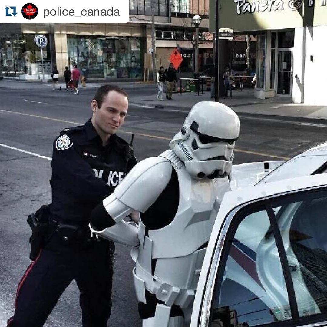#Repost @police_canada with @repostapp.   May the fourth be with you!   Want to be featured? DM me your photos! Not all photos will be posted. Must be high quality! Or use the hashtag #PoliceCanada to get your pic noticed!   Hate/advertising= blocked and reported (I really don't care if you get offended)   Feel free to repost ALL photos and videos just be sure to give credit!!  Our email is policecanada1@gmail.com feel free to email pics and vids to us!  #USA #Canada #army #navy #airforce…