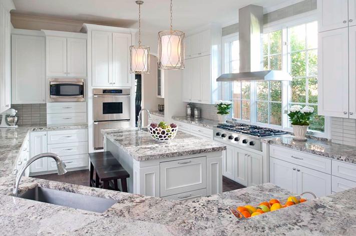 Best Alaskan White Granite Makes A Gorgeous Kitchen White 400 x 300