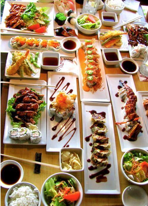 i adore sushi and you food� sushi ���� sushi comida