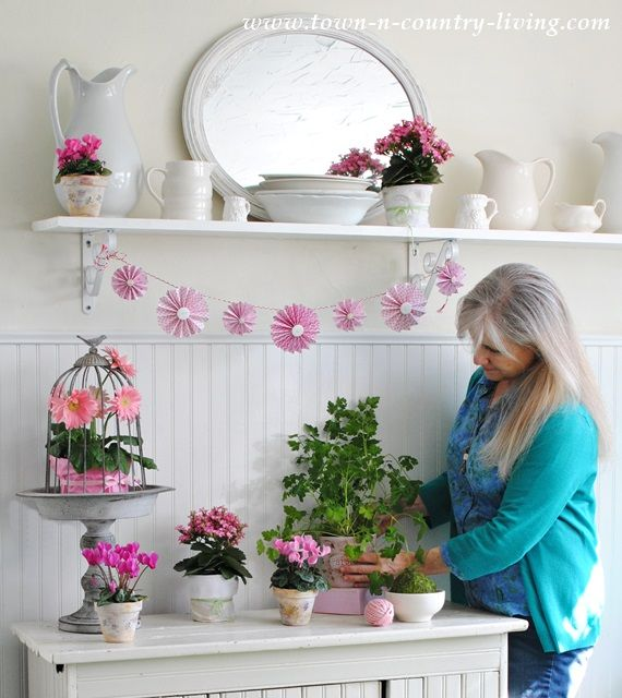 How I Create a Spring Vignette | Decor Steals | Archive ...
