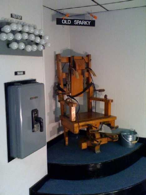 Old Sparky The Shocking History Of The Electric Chair