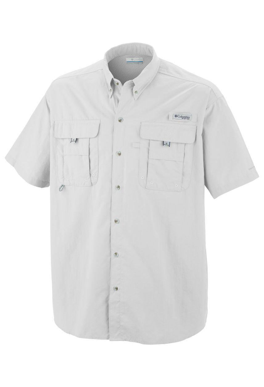 NEW COLUMBIA Men's PFG Bahama™ II Long Sleeve Fishing Shirt UPF 30 Vented