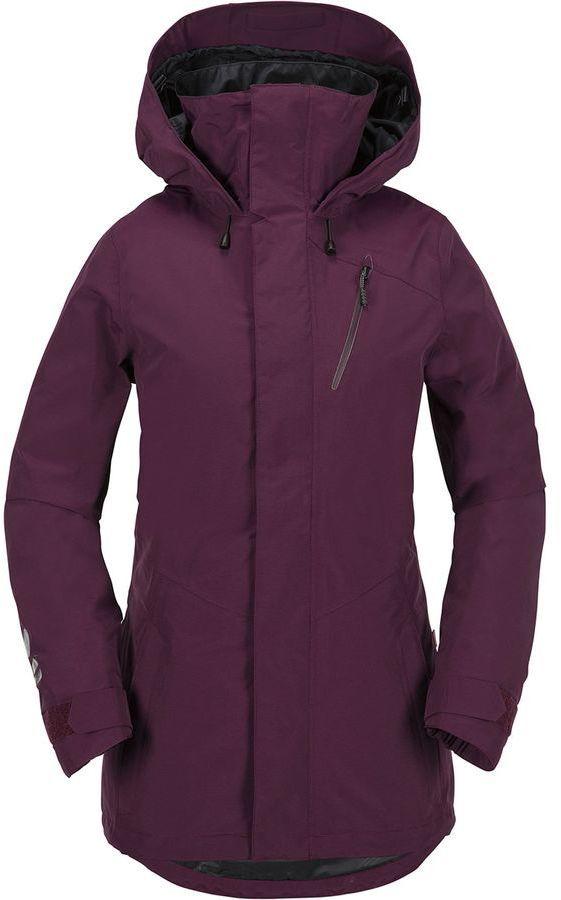 Volcom Campos Inf Gore Hooded Jacket Women S Afflink