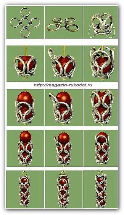 Украшения своими руками.   Chain mail схемы   DIY Jewelry, Jewelry и ... d5bb24ea2a6
