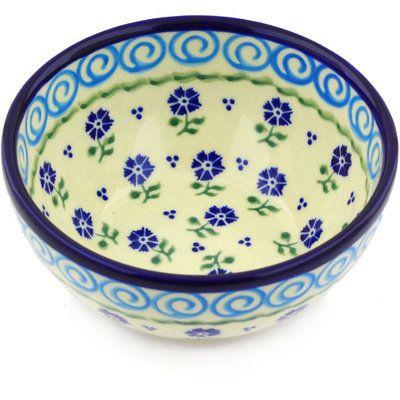 Polish Pottery 24 Oz Stoneware Dessert Bowl Polish Pottery Ceramics Bowls Designs Dessert Bowls