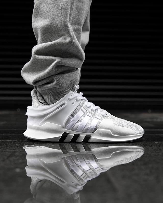 adidas eqt support adv primeknit white