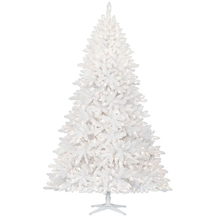 D17 7 5ft Pre Lit Calypso Flocked Christmas Tree At Home Store Flocked Christmas Trees White Flocked Christmas Tree Flocked Trees