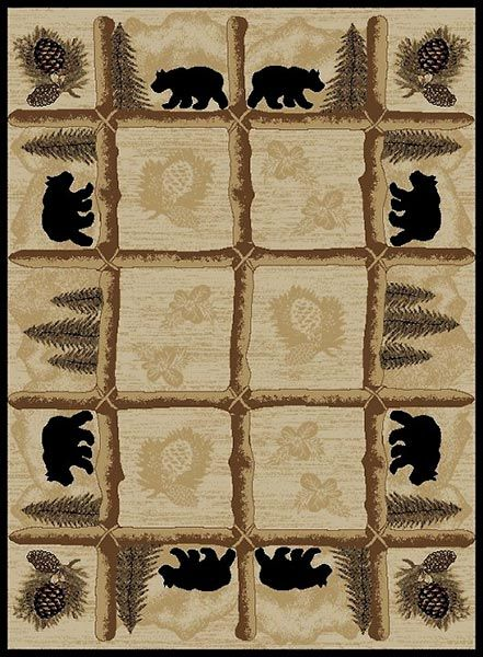 Toccoa Bears Rug