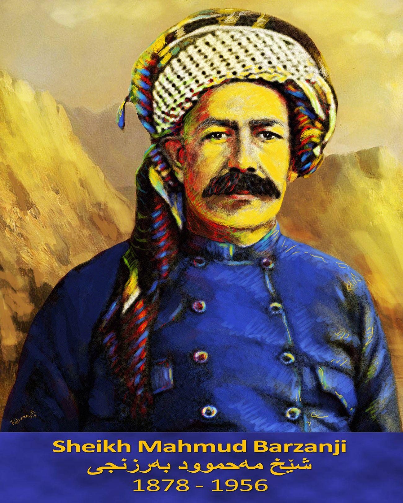 Pin By Yasa Hasanpour On History Of Kurdestan: Sheikh Mahmud Barzanji (1878-1956) Was The Leader Of A