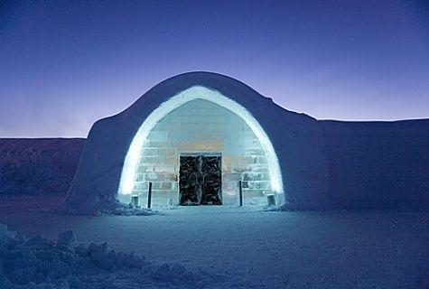 Ice Hotel Kiruna Sweden