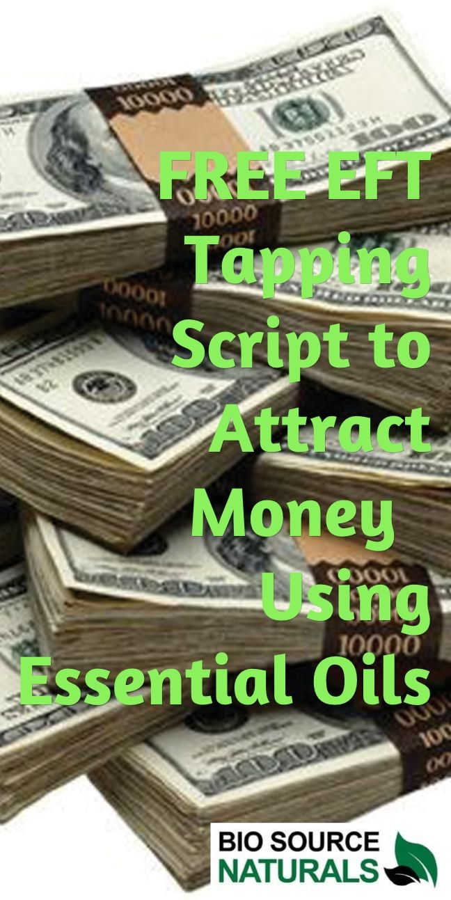 FREE EFT Tapping Script to Attract Money Using Essential