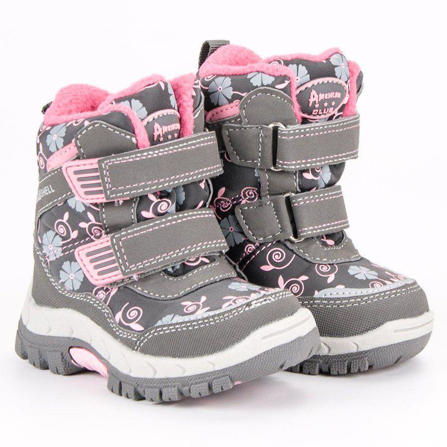 Kozaki Dla Dzieci Americanclub American Club Zimowe Buty American Boots Shoes Winter Boot
