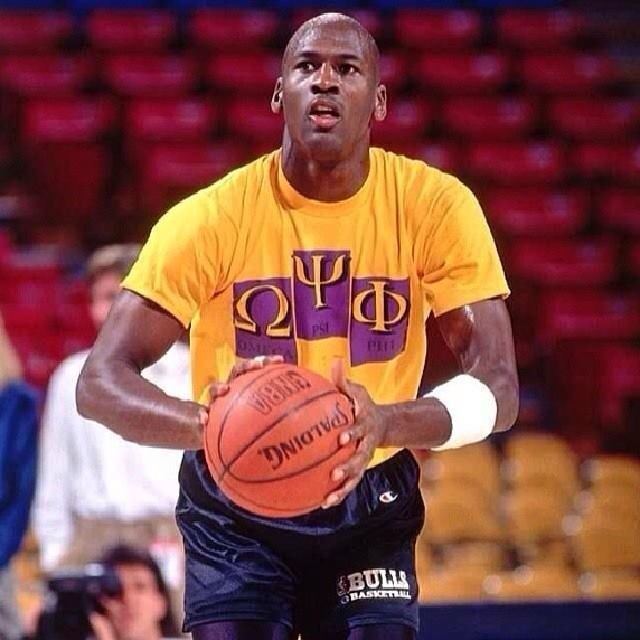 "tattoo of the letter ""Omega"" on chest - - facts about michael jordan"