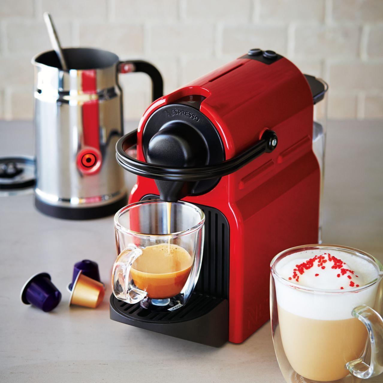 Nespresso Inissia Espresso Machine with Aeroccino Milk