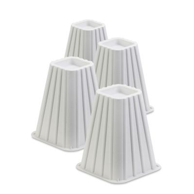 Best Honey Can Do 8 Square Bed Risers Set Of 4 Reviews 400 x 300